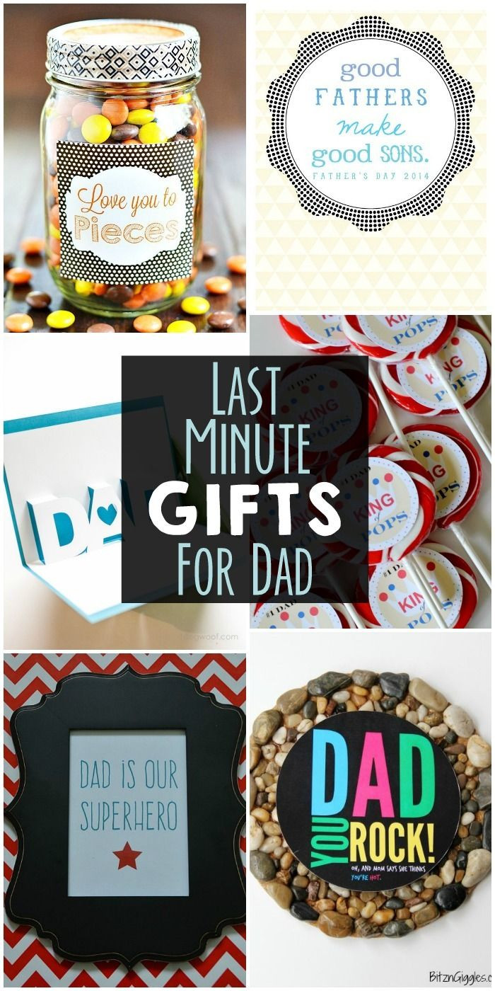 Best ideas about DIY Christmas Presents For Dads . Save or Pin Last Minute Gifts for Dad a collection of easy ts for Now.