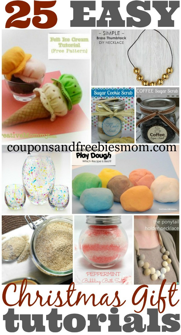Best ideas about DIY Christmas Presents For Mom . Save or Pin 25 Homemade Christmas Gifts Coupons and Freebies Mom Now.
