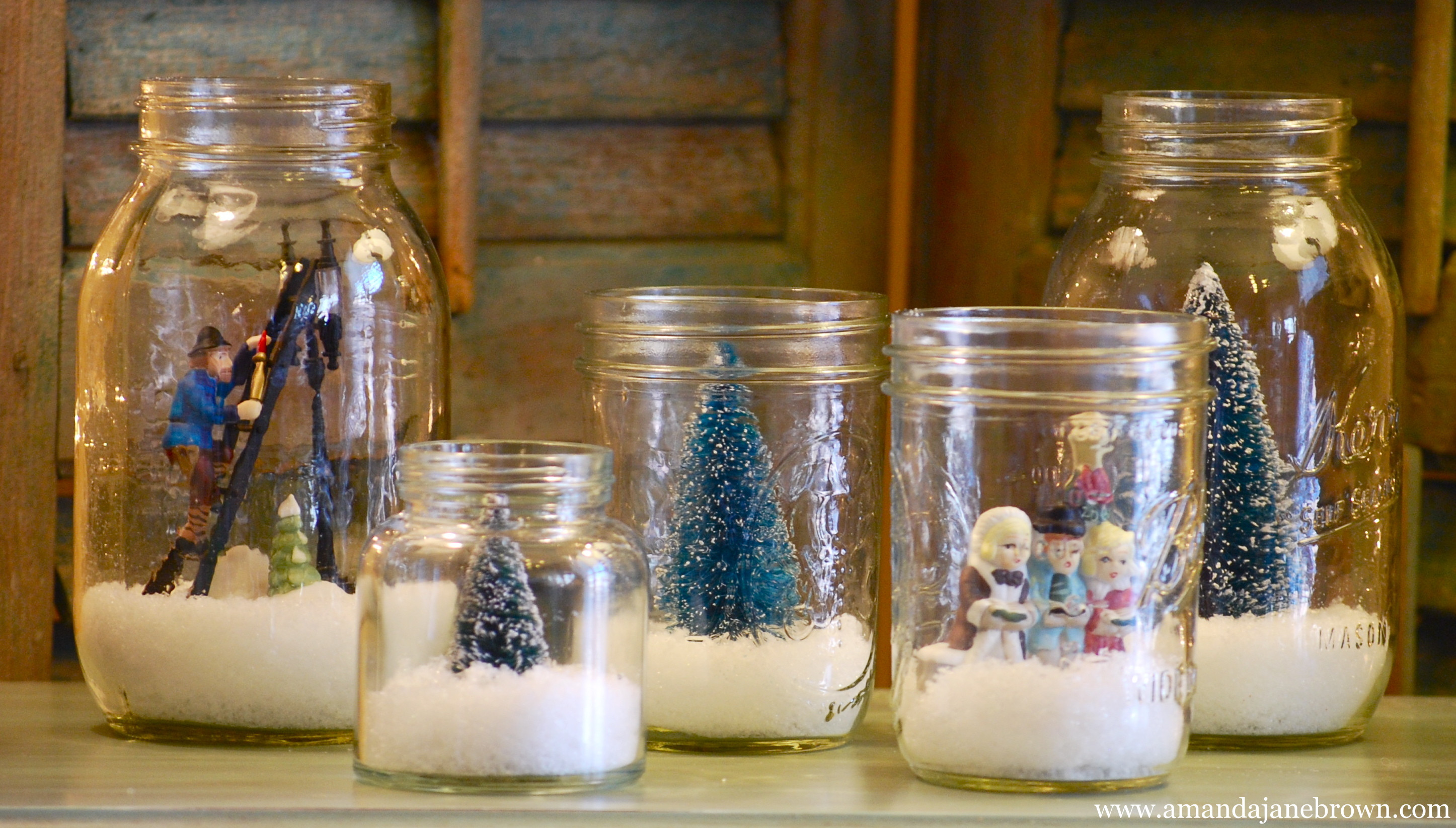 Best ideas about DIY Christmas Snow Globe . Save or Pin DIY Snow Globes Amanda Jane Brown Now.