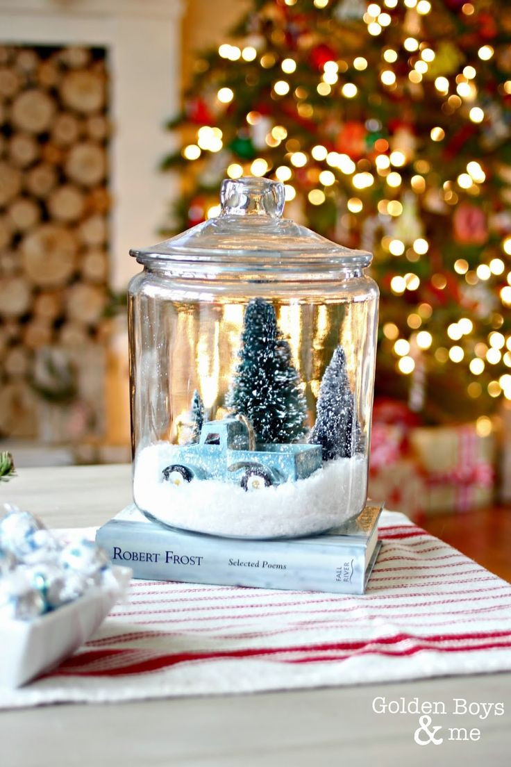 Best ideas about DIY Christmas Snow Globe . Save or Pin DIY Christmas Snow Globe Gifts That You Will Definitely Love Now.