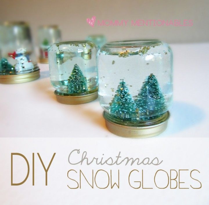 Best ideas about DIY Christmas Snow Globe . Save or Pin best DIY Mason Jar Crafts images on Pinterest Now.