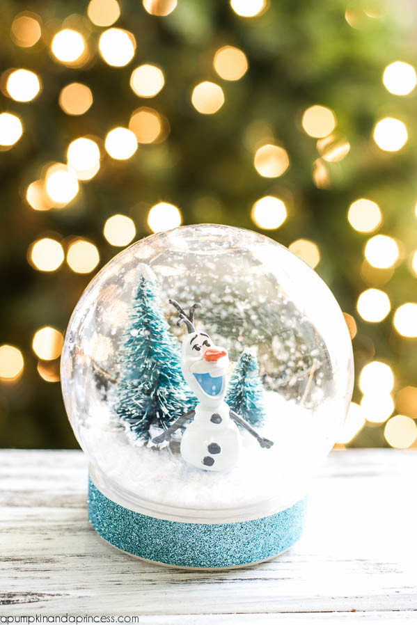 Best ideas about DIY Christmas Snow Globe . Save or Pin DIY Frozen Olaf Snow Globe A Pumpkin And A Princess Now.