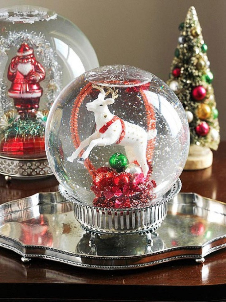 Best ideas about DIY Christmas Snow Globe . Save or Pin Top 10 DIY Christmas Snow Globes Top Inspired Now.