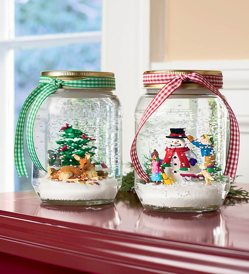 Best ideas about DIY Christmas Snow Globe . Save or Pin Craftionary Now.