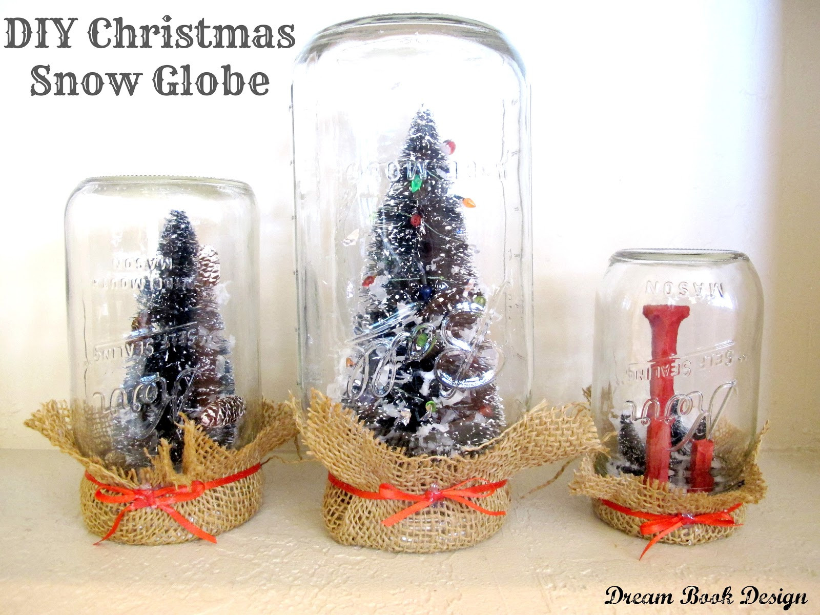 Best ideas about DIY Christmas Snow Globe . Save or Pin DIY Christmas Snow Globe Anthropologie Knock f Dream Now.