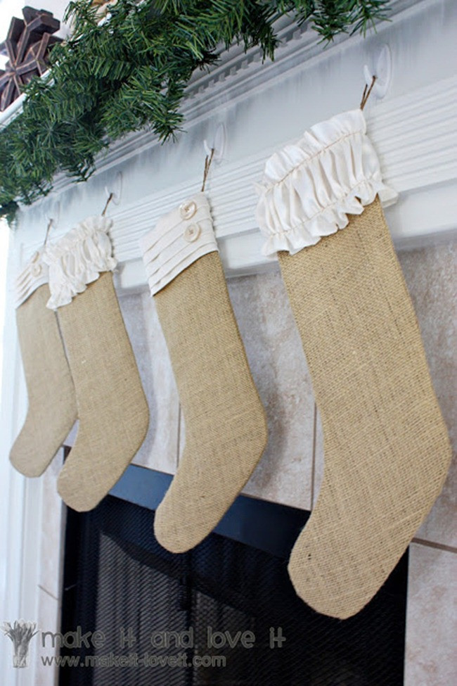 Best ideas about DIY Christmas Stocking . Save or Pin 12 DIY Christmas Stockings–Handmade Holiday Inspiration Now.