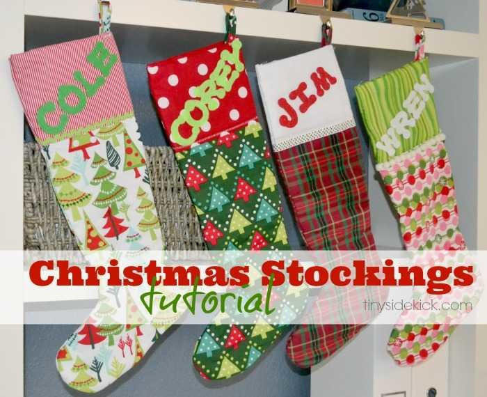 Best ideas about DIY Christmas Stocking . Save or Pin DIY Christmas Stockings Christmas Fabric Now.