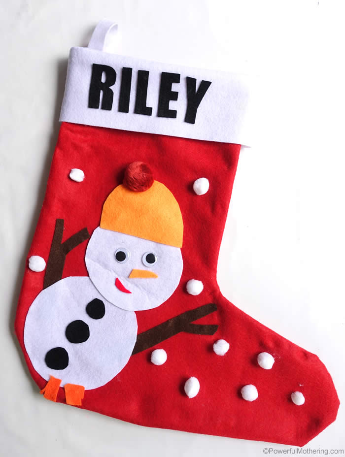 Best ideas about DIY Christmas Stocking . Save or Pin DIY Christmas Stockings No Sew Now.