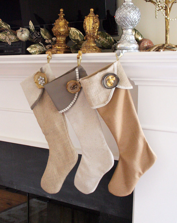 Best ideas about DIY Christmas Stocking . Save or Pin 6 Weeks of Holiday DIY Week 2 DIY Christmas Stockings Now.