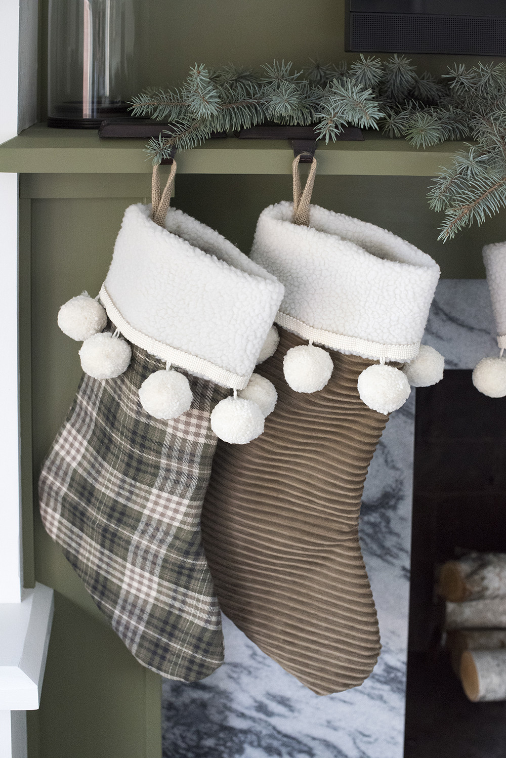 Best ideas about DIY Christmas Stocking . Save or Pin Christmas Stocking DIY for the Holidays Room for Tuesday Now.