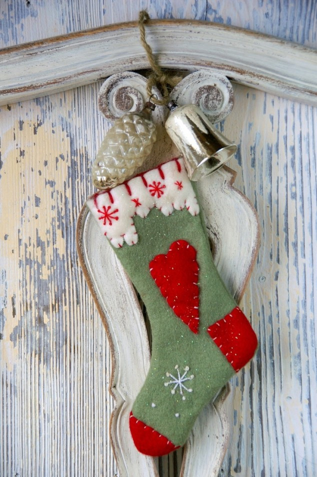 Best ideas about DIY Christmas Stocking . Save or Pin 29 Creative DIY Christmas Stockings Now.