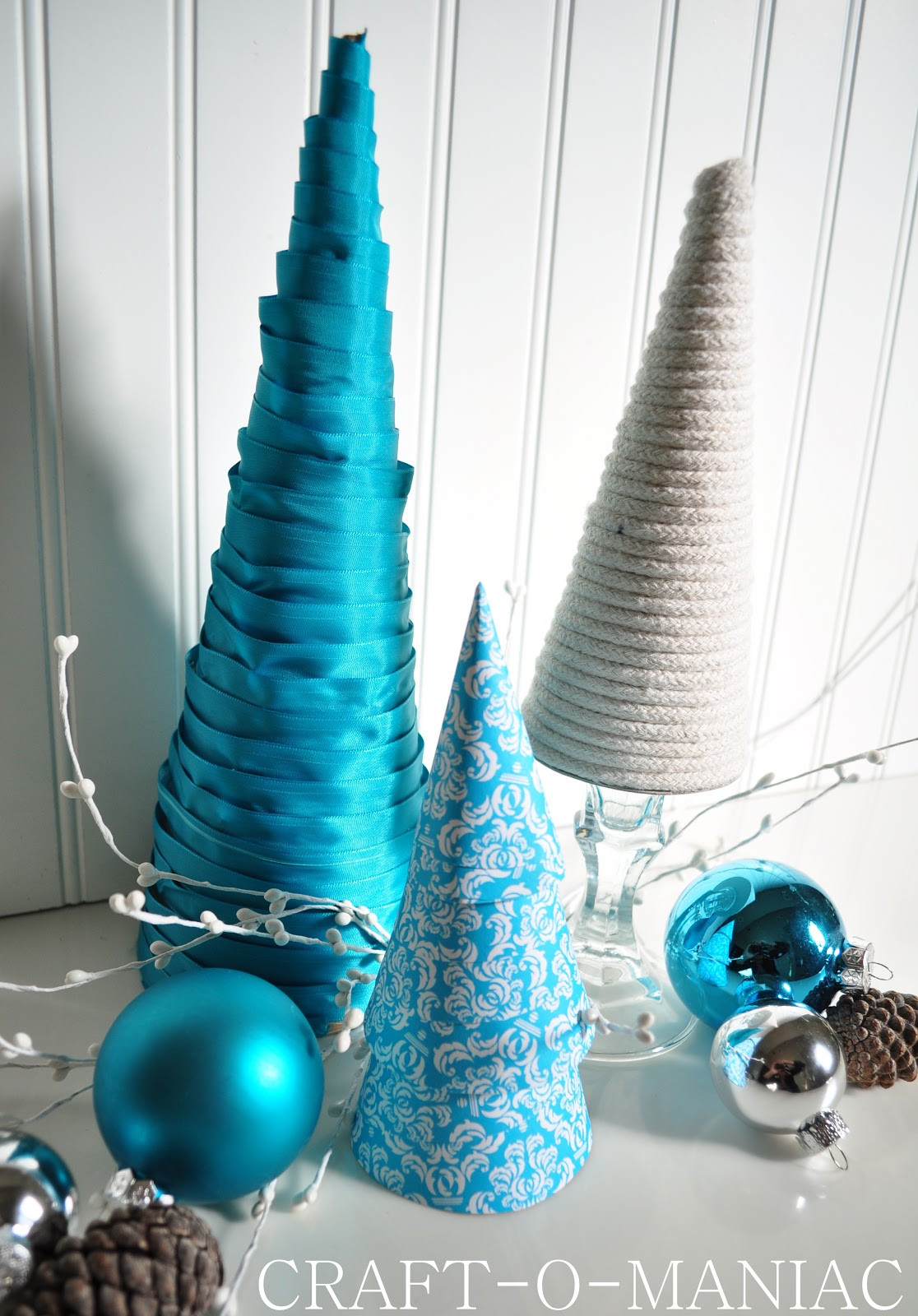Best ideas about DIY Christmas Tree . Save or Pin DIY Christmas Tree Cones Craft O Maniac Now.