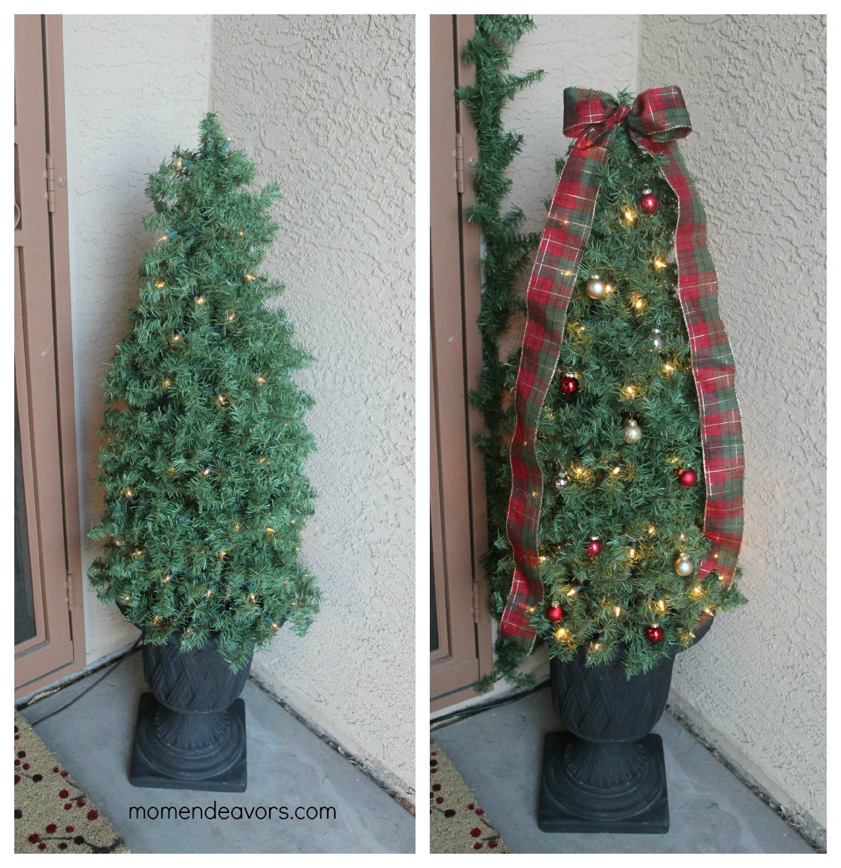 Best ideas about DIY Christmas Tree . Save or Pin DIY Decorative Topiary Christmas Trees Now.