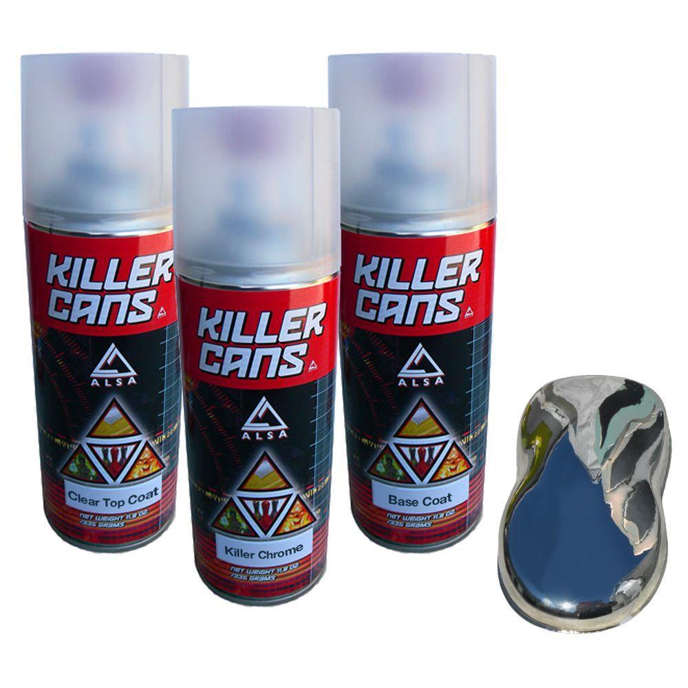 Best ideas about DIY Chrome Kit . Save or Pin Alsa Refinish Killer Chrome Kit KC KCH Kit The Home Depot Now.