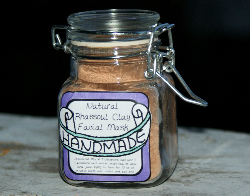 Best ideas about DIY Clay Face Mask . Save or Pin Homemade Natural Rhassoul Clay Mask Recipe Now.
