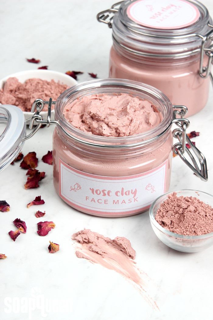 Best ideas about DIY Clay Face Mask . Save or Pin Rose Clay Face Mask DIY Teach Soap Now.