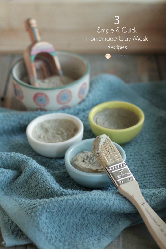 Best ideas about DIY Clay Face Mask . Save or Pin 3 Simple & Quick Homemade Clay Mask Recipes Live Simply Now.