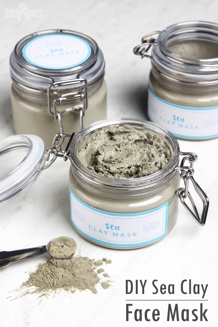 Best ideas about DIY Clay Face Mask . Save or Pin DIY Sea Clay Face Mask Soap Queen Now.