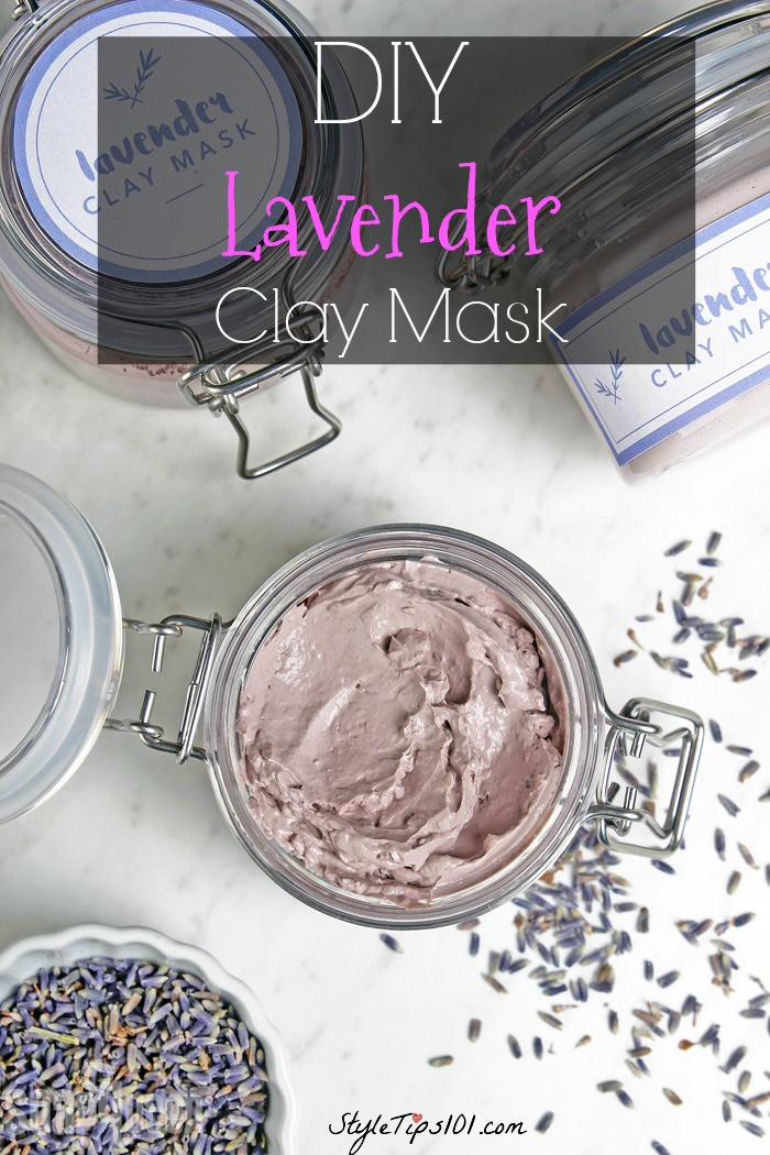 Best ideas about DIY Clay Face Mask . Save or Pin DIY Lavender Clay Mask For Dry Skin Now.