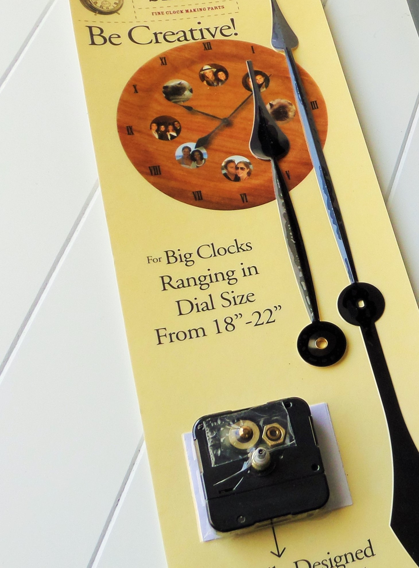 Best ideas about DIY Clock Kit . Save or Pin DIY Rustic Wall Clock Be My Guest With Denise Now.