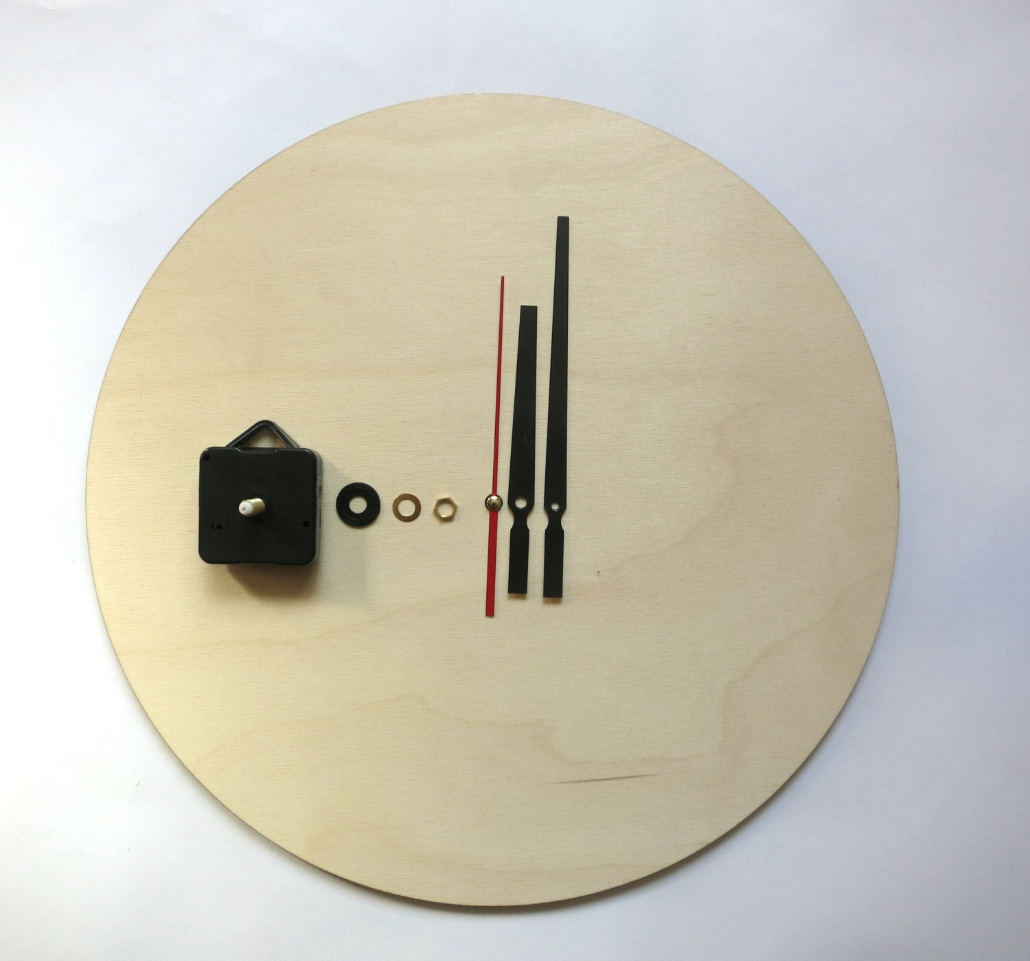 Best ideas about DIY Clock Kit . Save or Pin Clock kit DIY Wall clock kit 16 40cm diy clock wood Now.