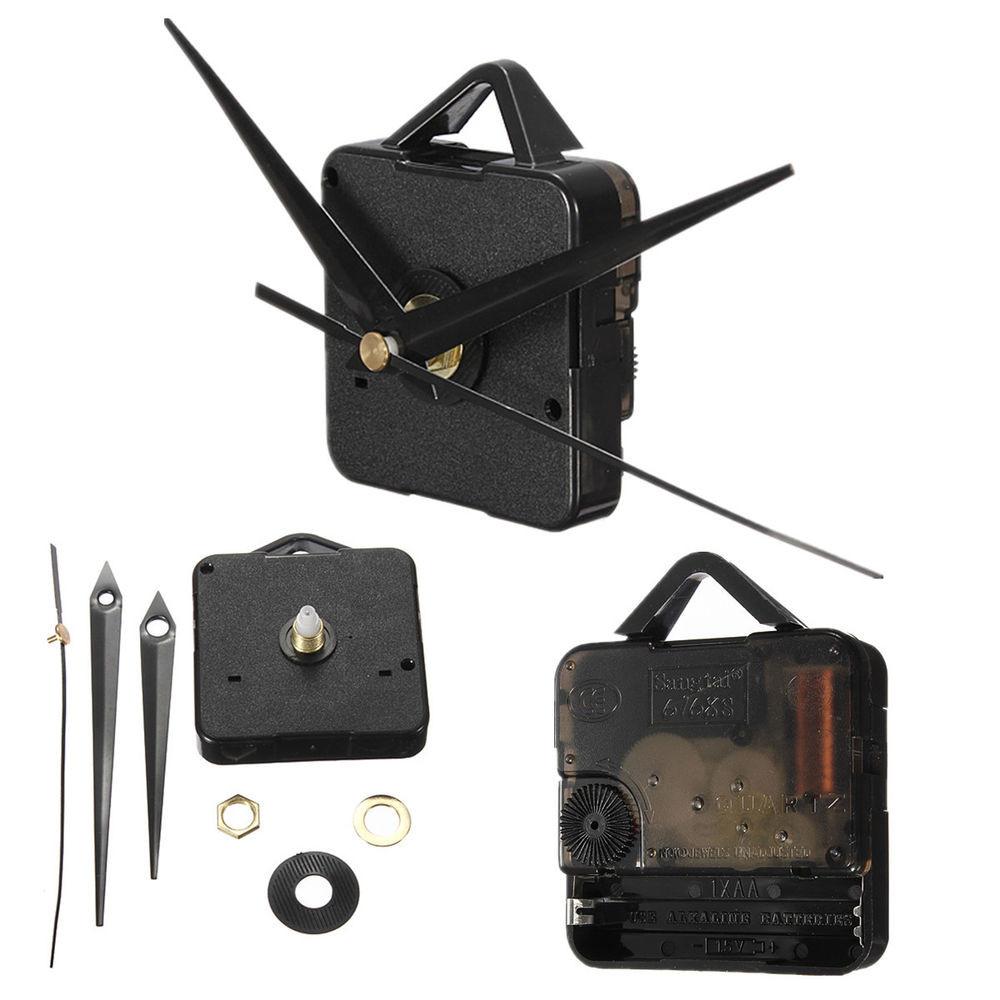 Best ideas about DIY Clock Kit . Save or Pin Simple DIY Quartz Wall Clock Core Mechanism Make Repair Now.