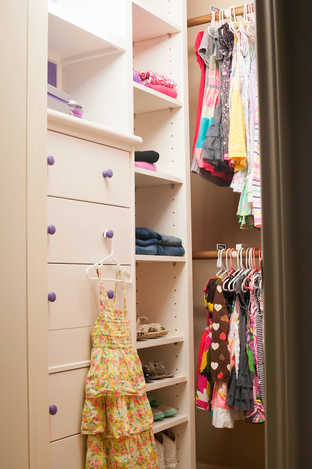 Best ideas about DIY Closet Kit . Save or Pin MyBellaBug Girls Bedroom DIY Closet System Reveal Now.