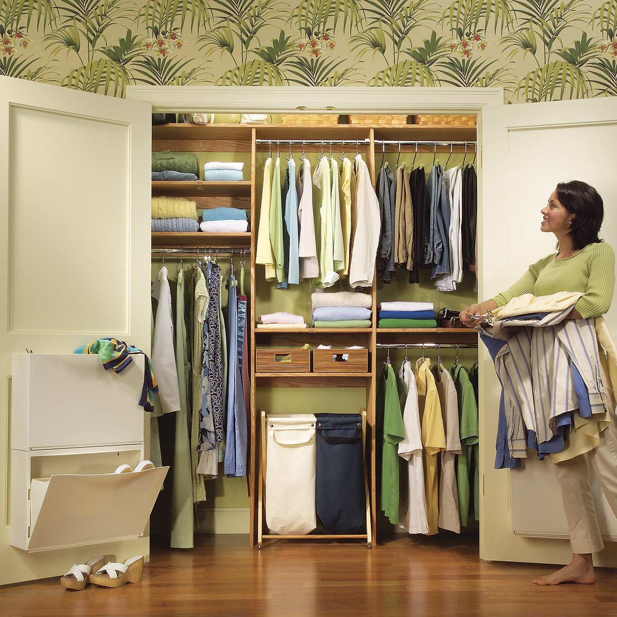 Best ideas about DIY Closet Kit . Save or Pin 21 Cheap Closet Updates You Can DIY Now.