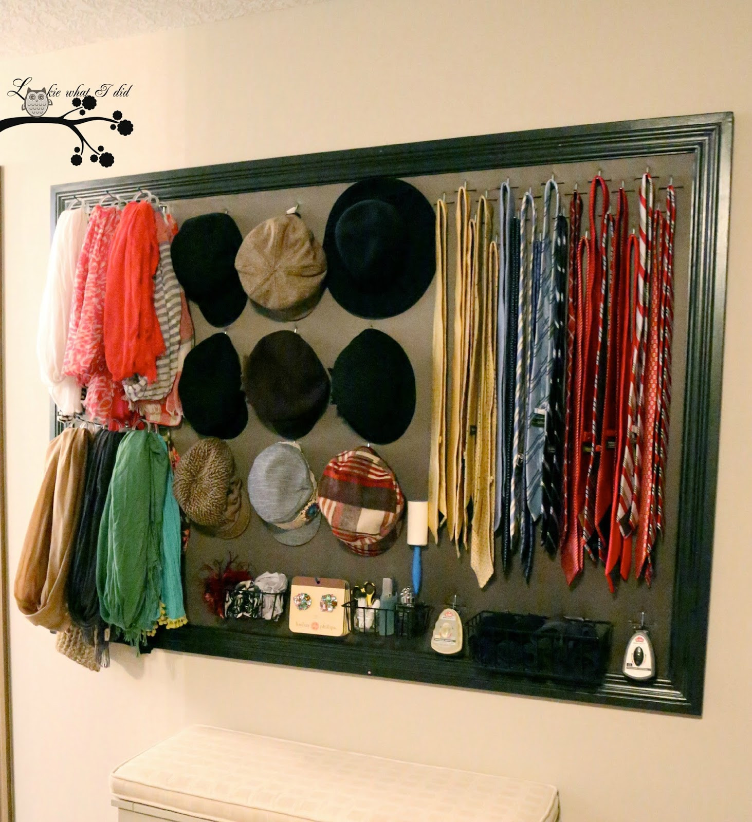 Best ideas about DIY Closet Organizer . Save or Pin Lookie What I Did His and Her Closet Organizer Now.