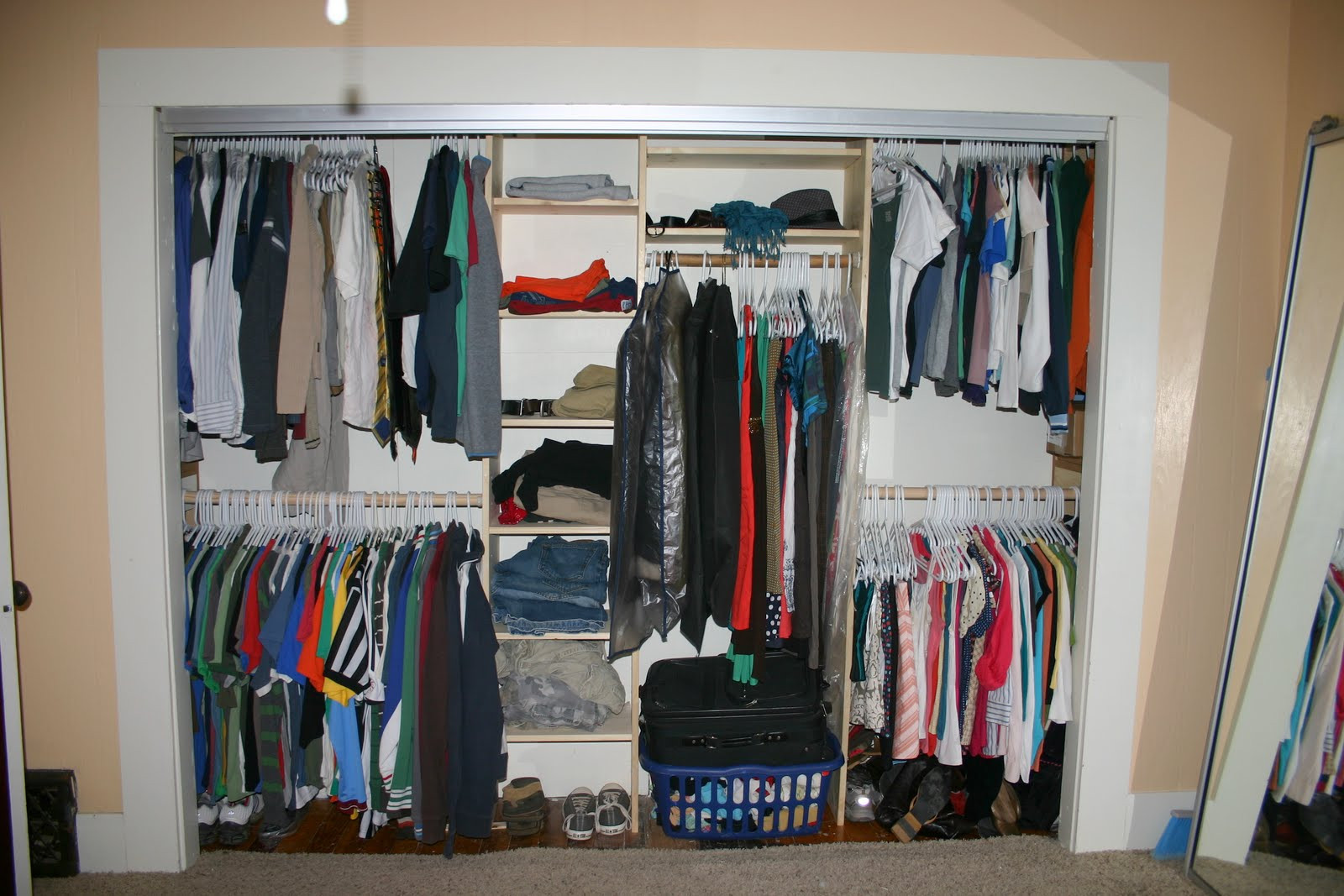 Best ideas about DIY Closet Organizer . Save or Pin German Jello Salad DIY Closet Organizer Reveal You can Now.