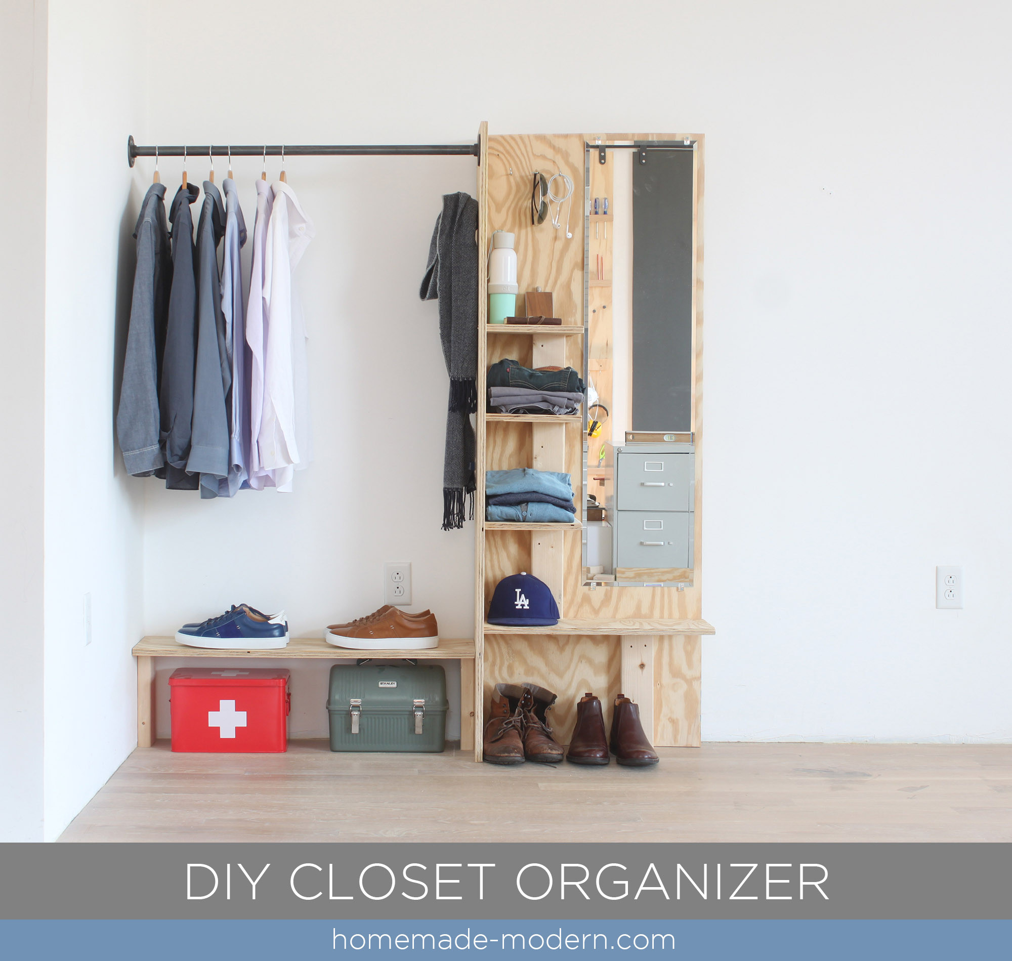 Best ideas about DIY Closet Organizer . Save or Pin HomeMade Modern EP98 DIY Closet Organizer Now.