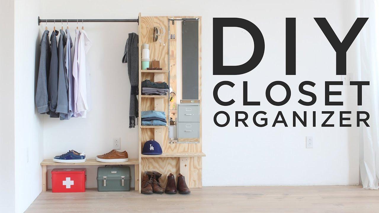 Best ideas about DIY Closet Rack . Save or Pin DIY Closet Organizer Now.