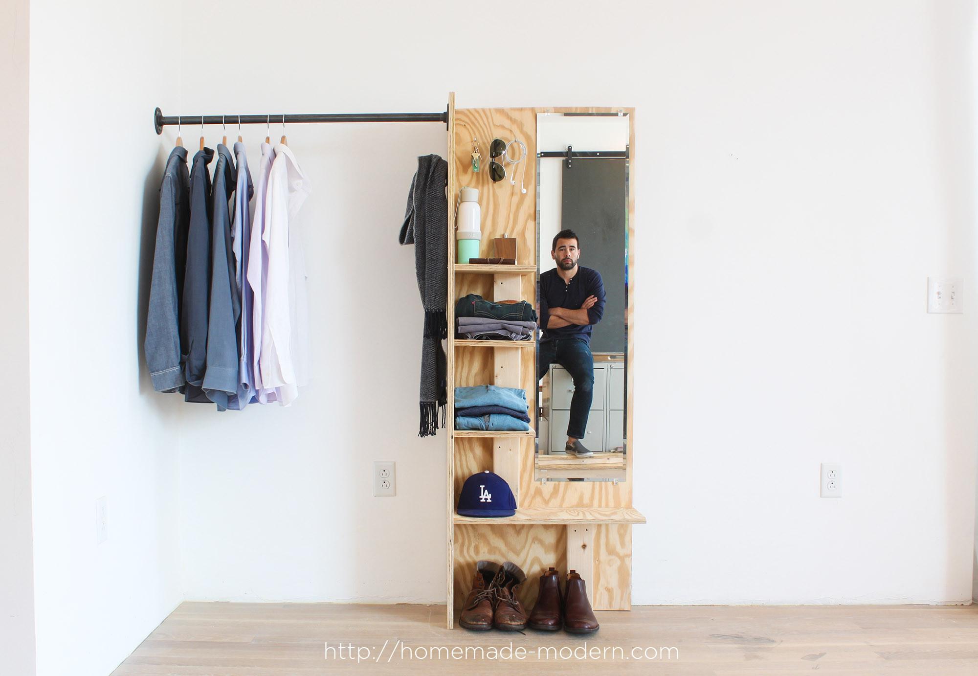 Best ideas about DIY Closet Rack . Save or Pin HomeMade Modern EP98 DIY Closet Organizer Now.