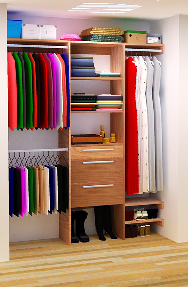 Best ideas about DIY Closet Rack . Save or Pin DIY Closet Organizer Plans For 5 to 8 Closet Now.