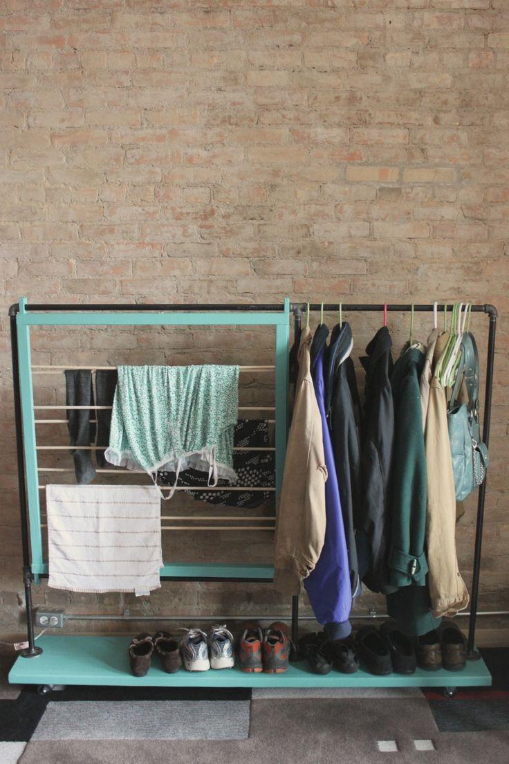 Best ideas about DIY Closet Rack . Save or Pin DIY coat rack Closet Now.