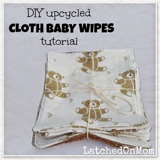 Best ideas about DIY Cloth Baby Wipes . Save or Pin Latched Mom DIY Upcycled Cloth Baby Wipes Tutorial Now.