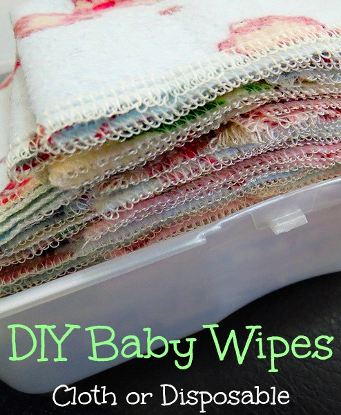 Best ideas about DIY Cloth Baby Wipes . Save or Pin DIY Baby Wipes Cloth or Disposable Gentle Solution Now.