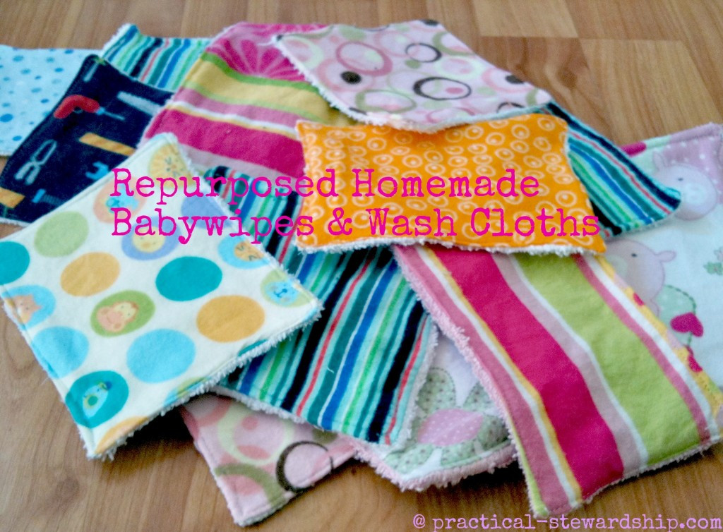Best ideas about DIY Cloth Baby Wipes . Save or Pin DIY Cloth Baby Wipes or Washcloths Practical Stewardship Now.