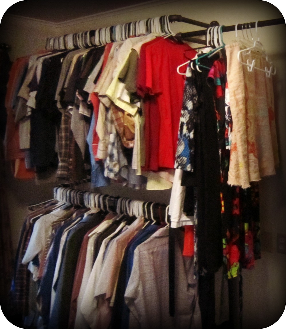 Best ideas about DIY Clothing Rack . Save or Pin Concrete and Nail Polish DIY Clothing Racks Now.