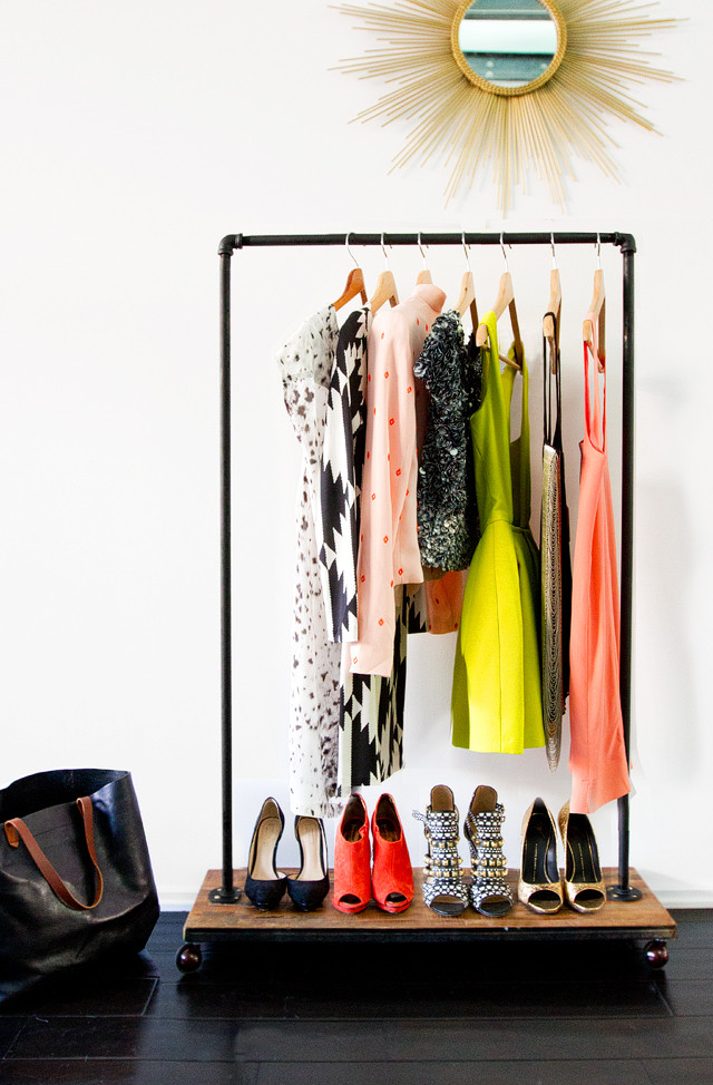 Best ideas about DIY Clothing Rack . Save or Pin 23 Pipe Clothing Rack DIY Tutorials Now.