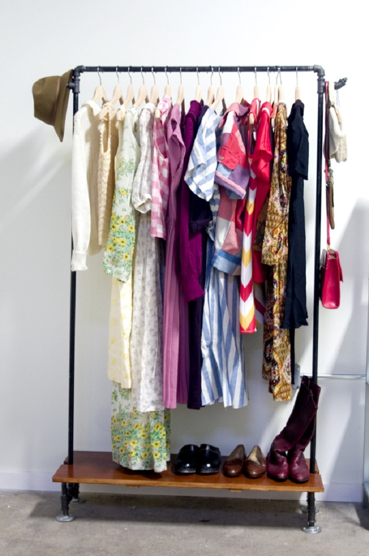 Best ideas about DIY Clothing Rack . Save or Pin Top 10 Best Ideas for Well Organized Home Top Inspired Now.