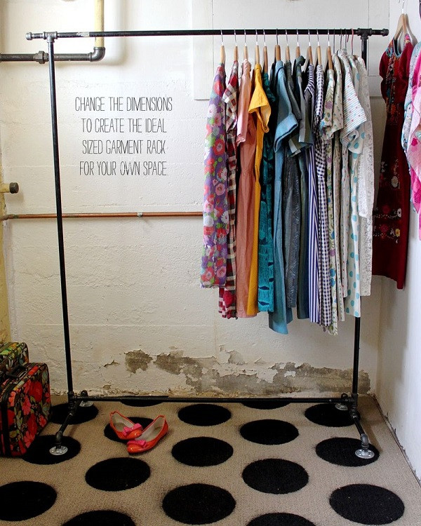 Best ideas about DIY Clothing Rack . Save or Pin Chic DIY Clothes Rack Ideas Now.