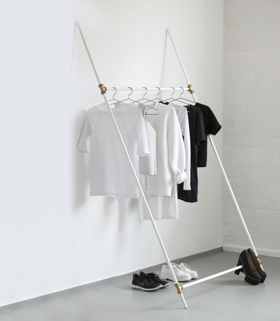 Best ideas about DIY Clothing Rack . Save or Pin DIY Clothes Rack DIY MOTHER EARTH NEWS Now.