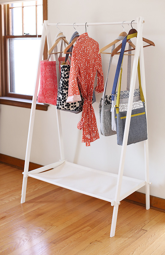 Best ideas about DIY Clothing Rack . Save or Pin DIY Garment Rack Noodlehead Now.