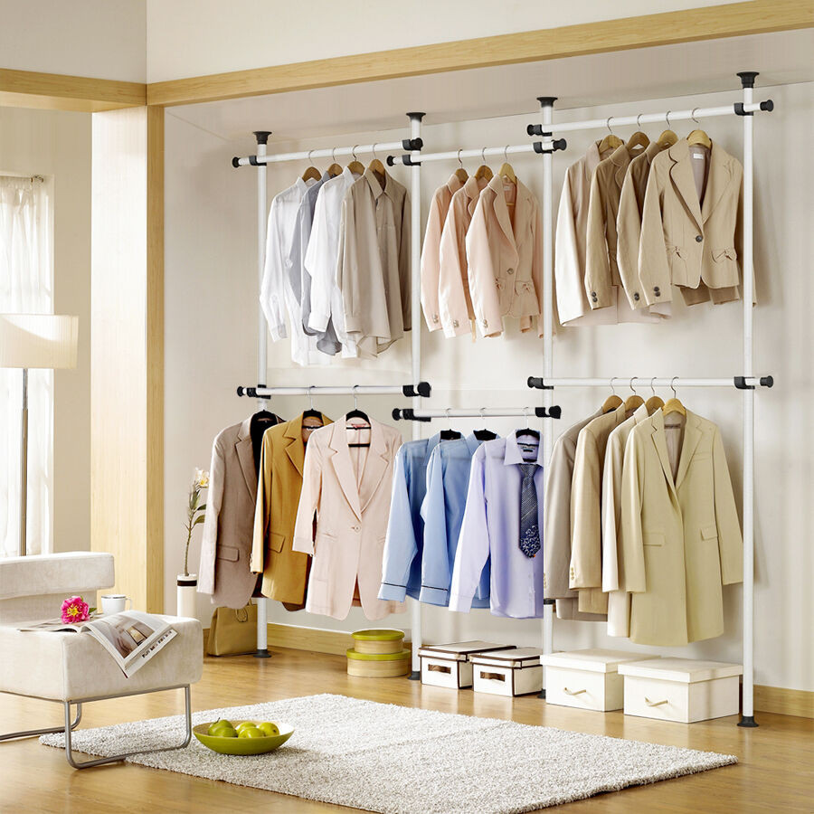 Best ideas about DIY Clothing Rack . Save or Pin ToolsFree Garment Rack DIY Coat Hanger Clothes Wardrobe 4 Now.