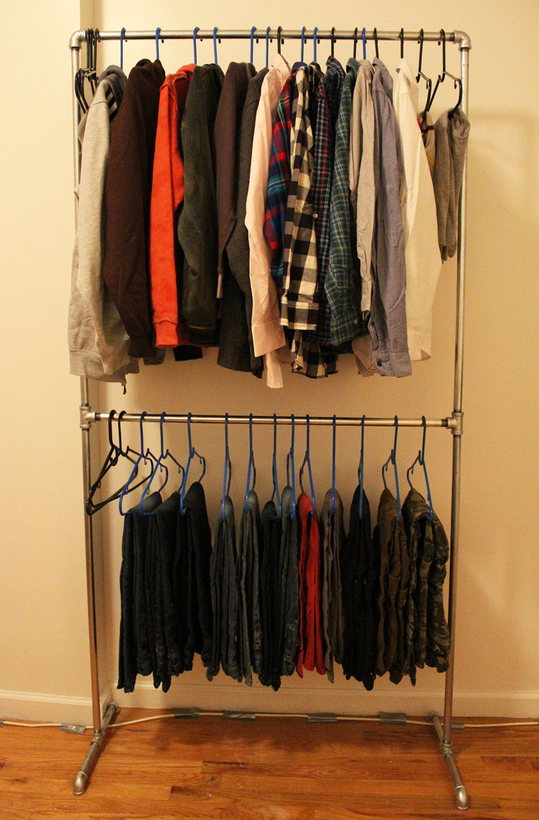Best ideas about DIY Clothing Rack . Save or Pin DIY Pipe Clothing Rack Now.