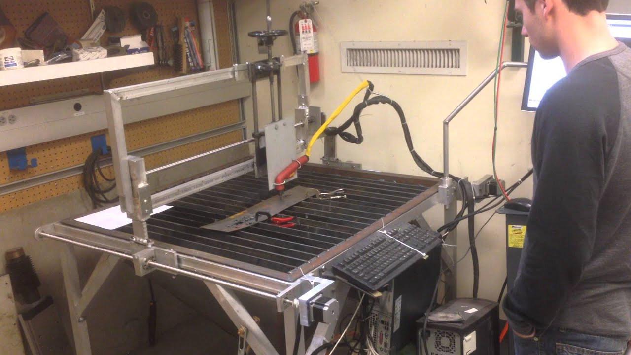 Best ideas about DIY Cnc Plasma Cutter Kits . Save or Pin DIY CNC Plasma Cutter First Run Now.