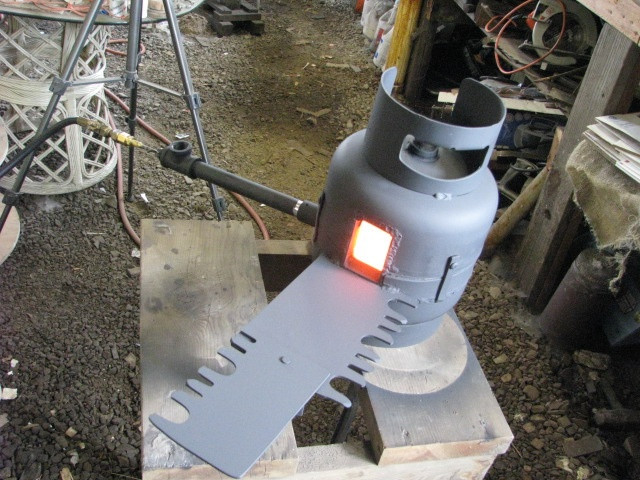 Best ideas about DIY Coal Forge Plans . Save or Pin diy propane forge Propane Forge Plans Now.