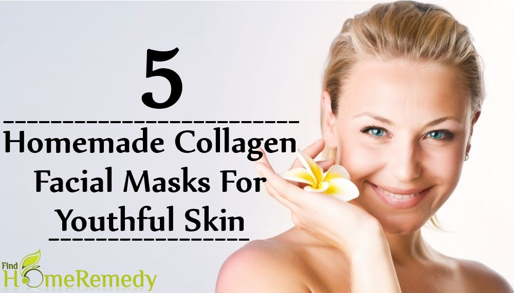 Best ideas about DIY Collagen Mask . Save or Pin 5 Awesome Homemade Collagen Facial Masks For Youthful Skin Now.