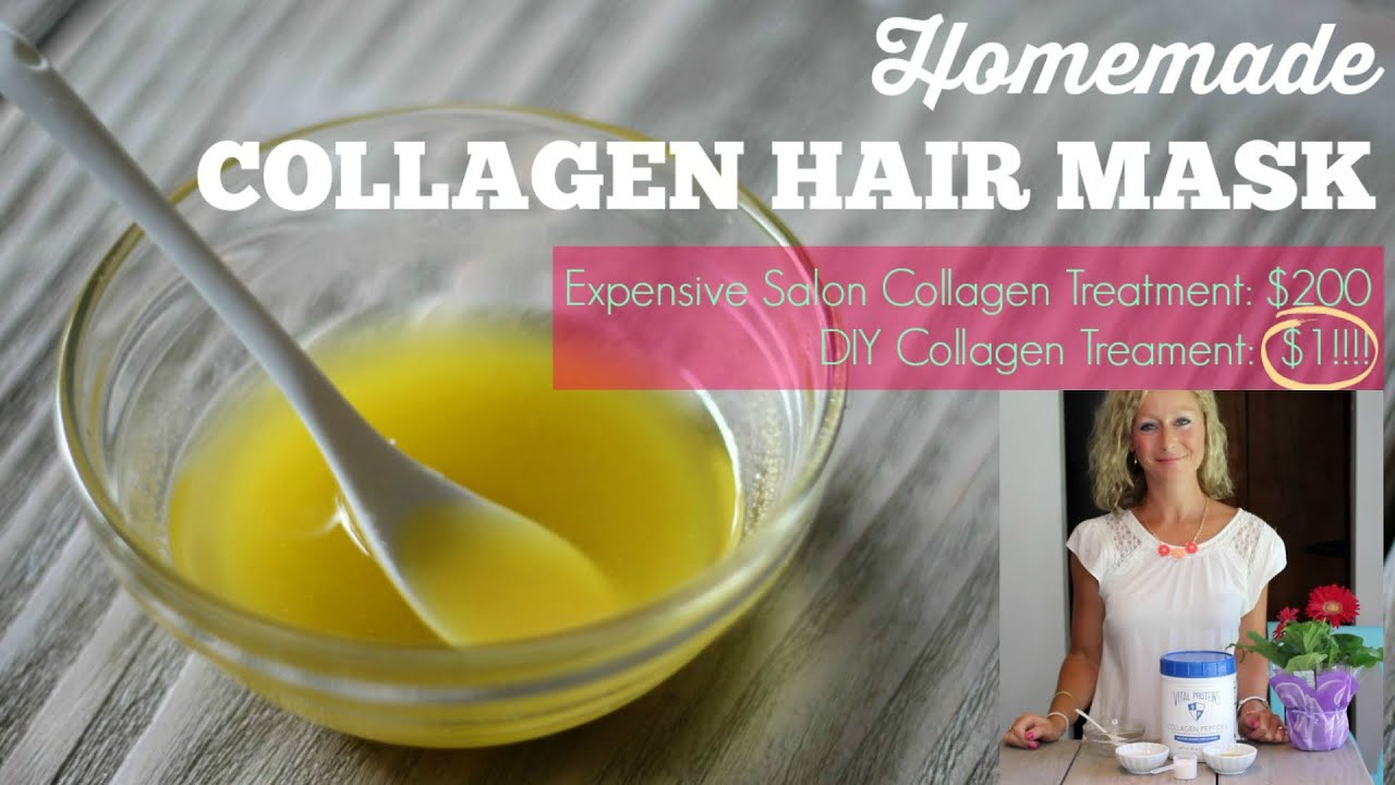 Best ideas about DIY Collagen Mask . Save or Pin DIY Collagen Hair Mask Healthy hair in 1 month Now.